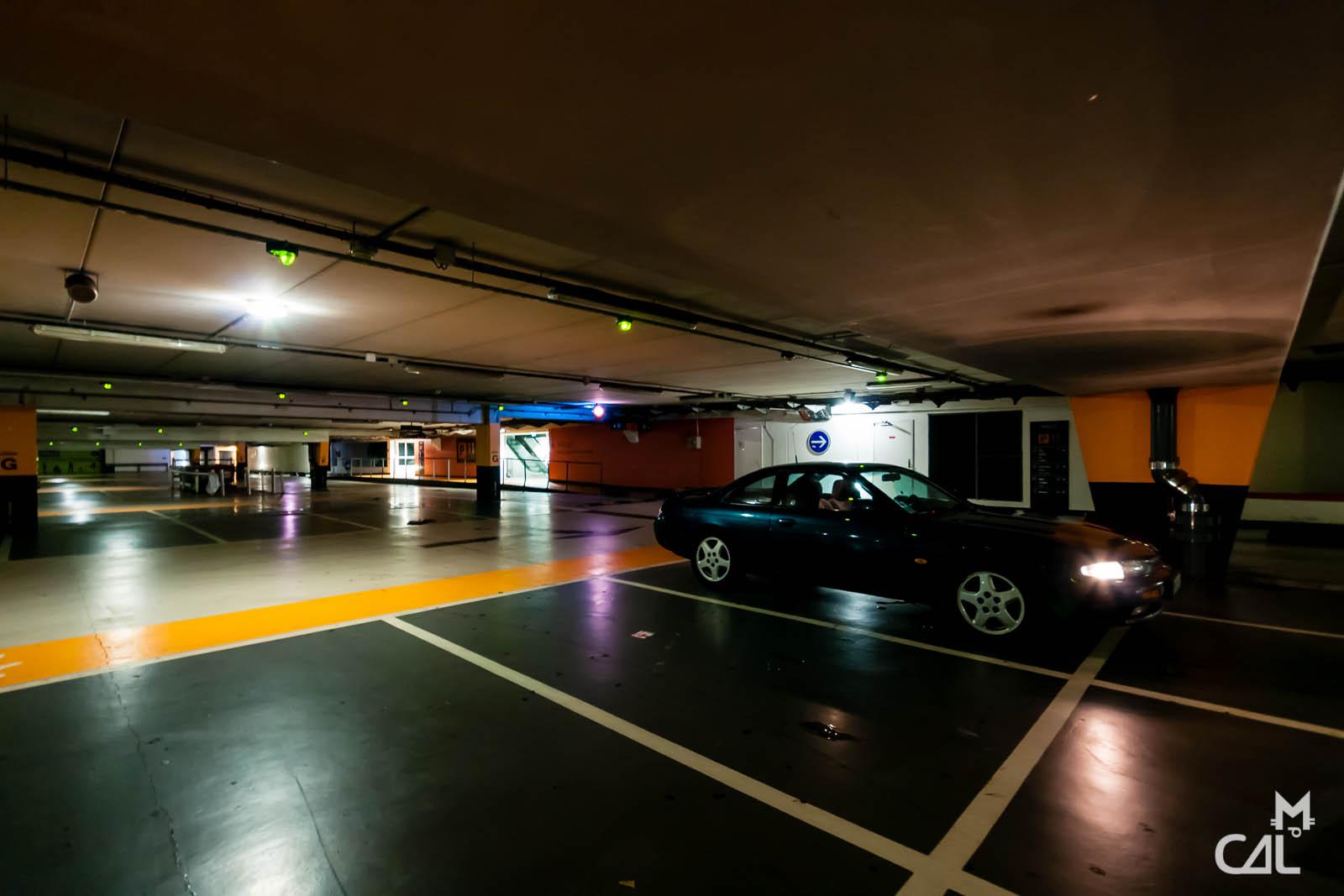 egar nissan 200sx s14 parking souterrain mon chat aime la photo. Black Bedroom Furniture Sets. Home Design Ideas