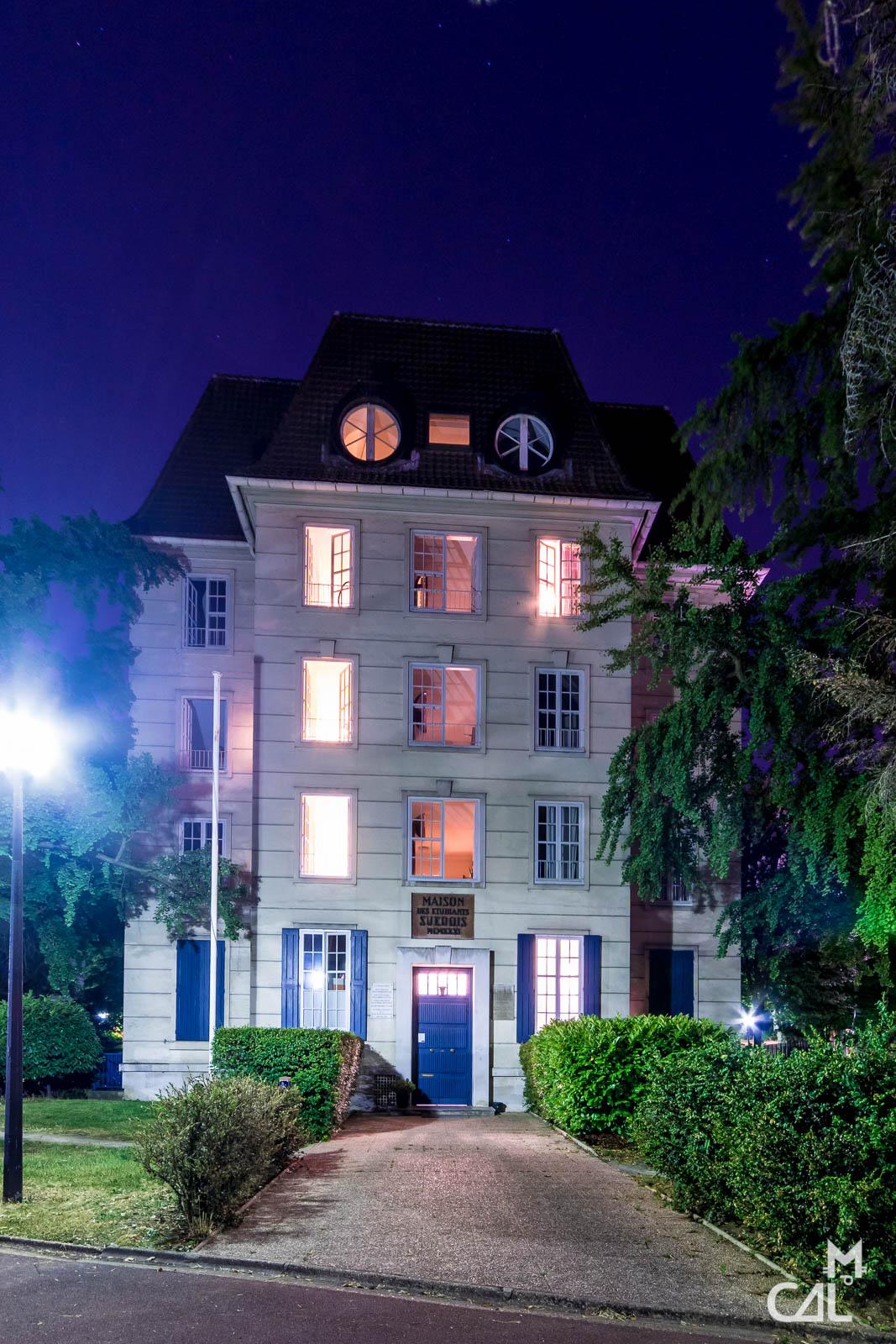 La Maison De La Suede cité universitaire, maison de étudiants suédois – suède : la