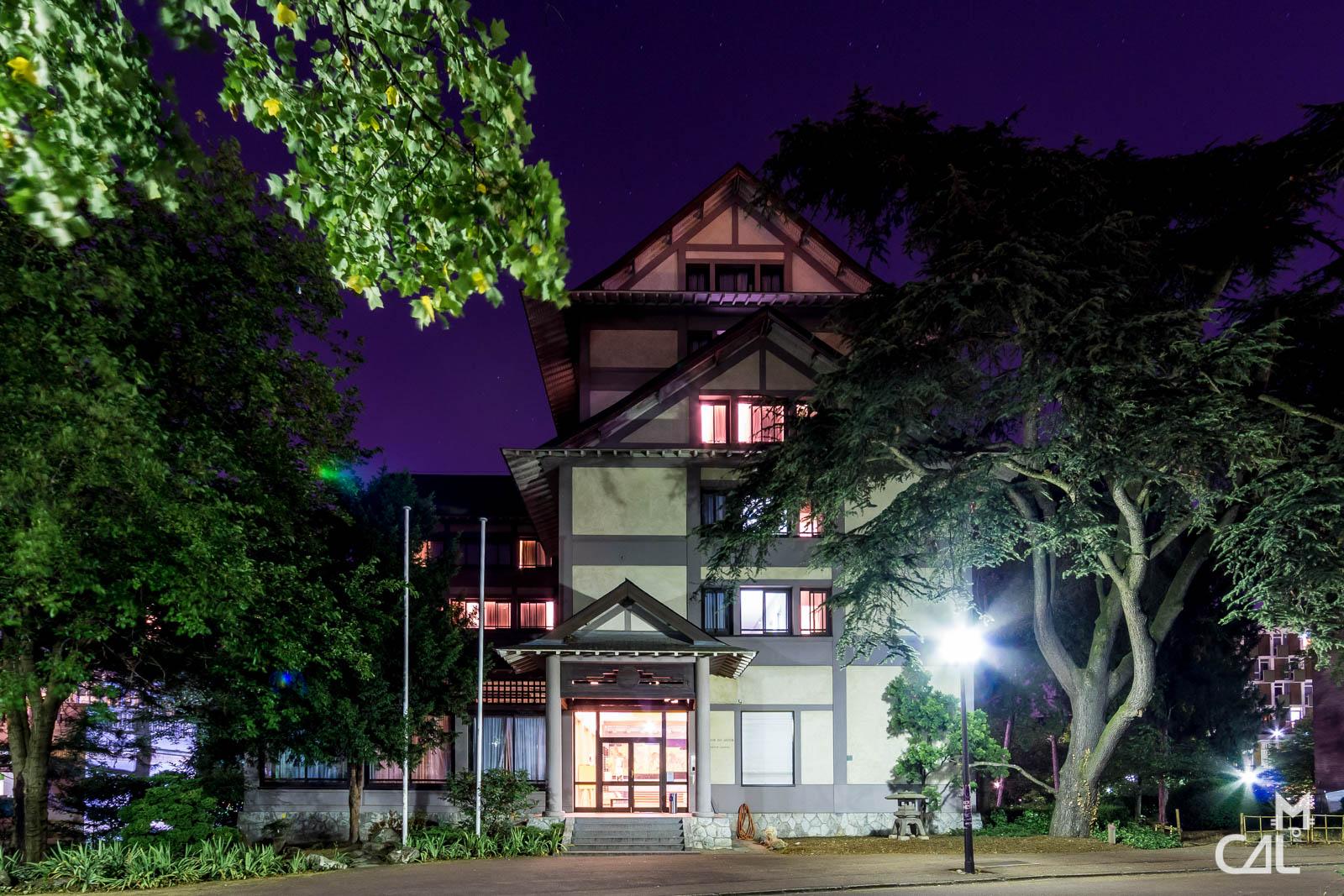 Cit universitaire maison du japon toute en hauteur et typique mon chat - Maison du japon a paris ...